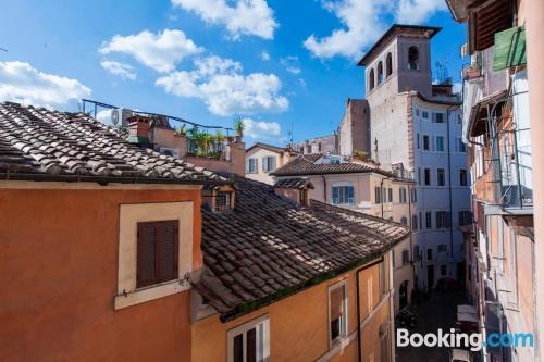 Stay cool: air-con place in Rome in amazing location