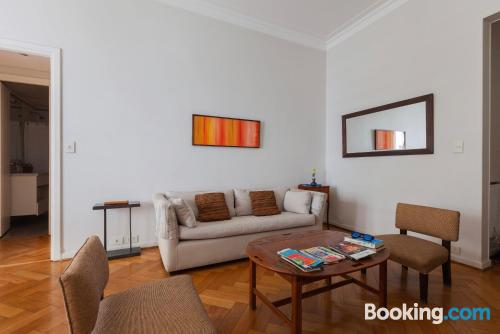 Place for two in Buenos Aires with internet.