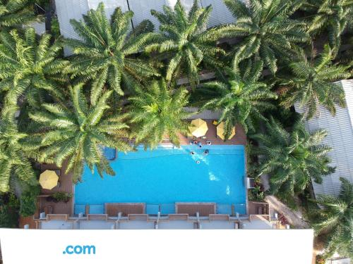 Swimming pool and internet home in Khanom. Be cool, there\s air!