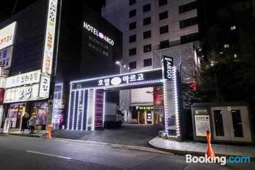 Apartamento con terraza en Seúl.