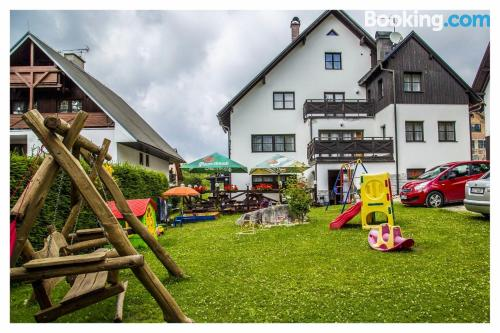 25m2 place in Harrachov with terrace