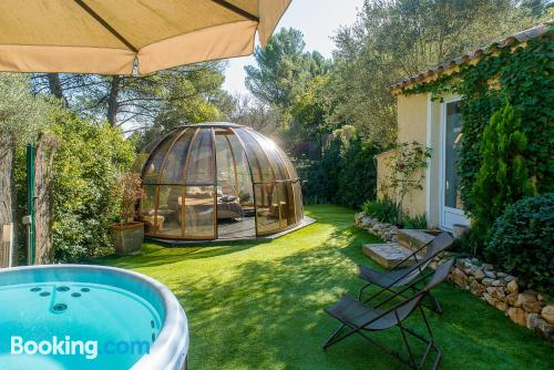 Home in Aubagne. Cot available