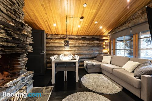 Two bedrooms home in Ruka with wifi.