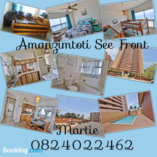 Amanzimtoti from a perfect location with pool.