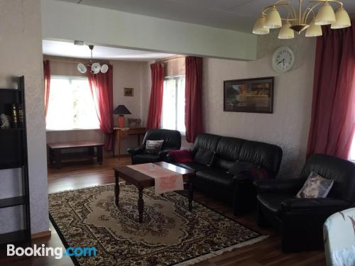 Two bedrooms apartment. Dog friendly!.