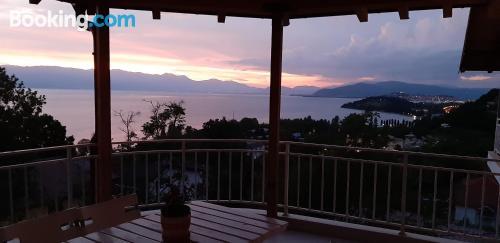 Práctico apartamento parejas en Ohrid