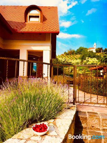 Apartamento de 30m2 en Szigliget con wifi y terraza