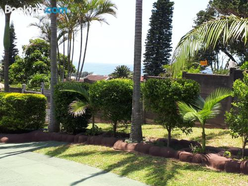 Apartment for six or more in Hibberdene with swimming pool.