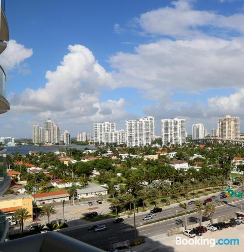 Spacious place in Sunny Isles Beach.