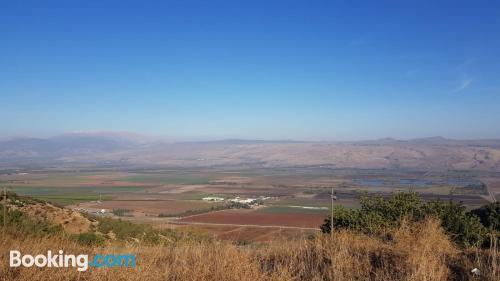 Place in Ramot Naftali with pool
