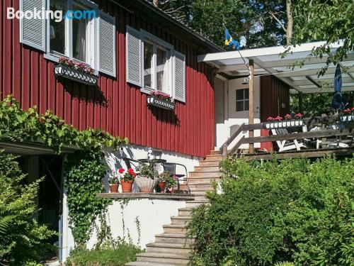 Place with terrace. Haverdal is yours!