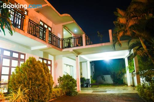 Home with terrace. For couples