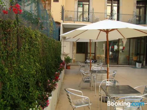 Incredible location with air-con in Barcelona. Sleeps two people