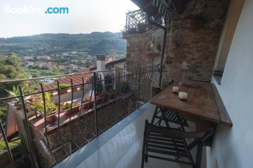 Apartment with terrace and internet