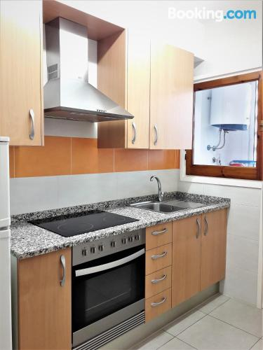Apartamento con conexión a internet con vistas.