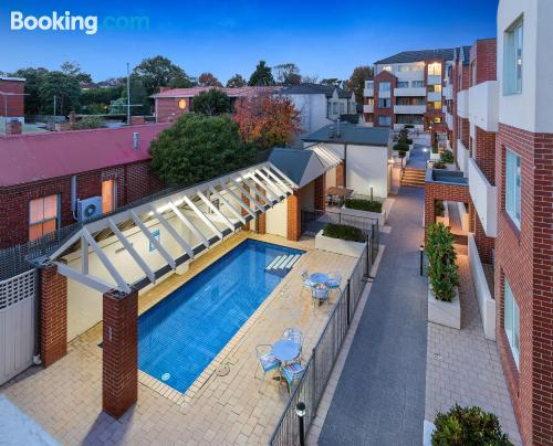 Apartment with swimming pool. Enjoy your terrace