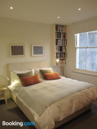 London apartment with heat