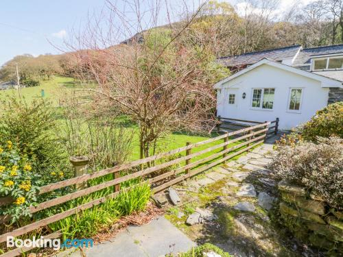 Place for two in Tywyn with internet.
