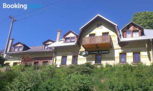 Apartment for two people in downtown of Branná