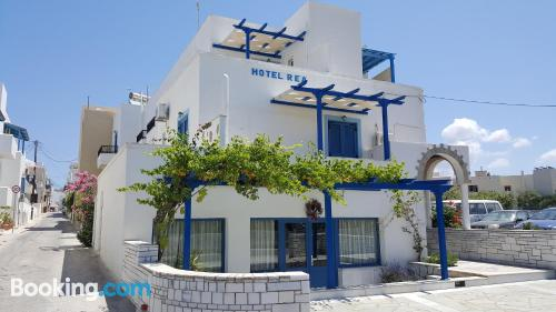 Apartment in Naxos Chora with terrace