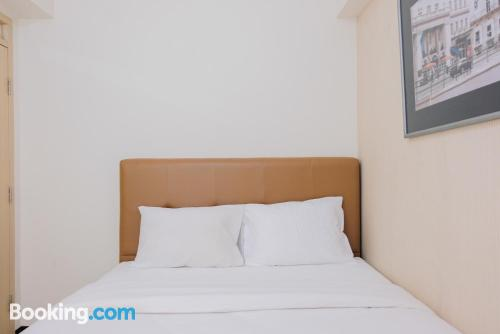 Terrace and internet place in Tangerang with 2 bedrooms.