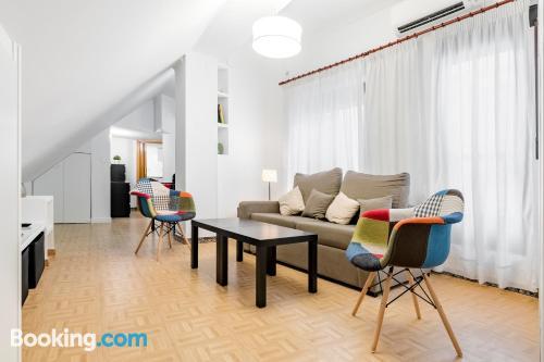 Apartamento de una habitación en Madrid. ¡Internet!