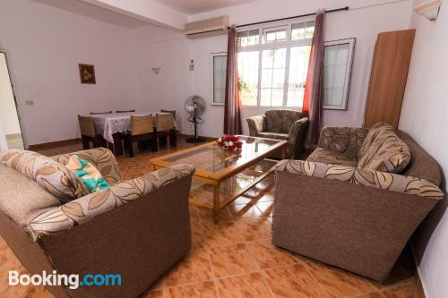 Comfortable apartment with two bedrooms