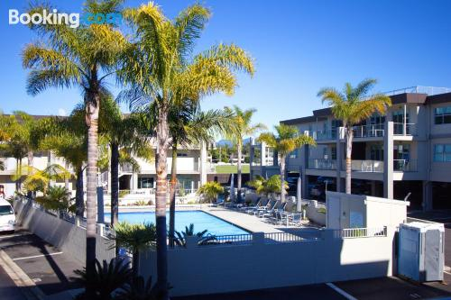 Apartment for two people in Whitianga with air