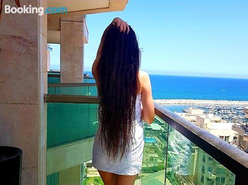 Apartment for 2 in Ashkelon. Air!