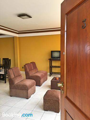 Apartamento de 28m2 en Tarija con terraza y internet