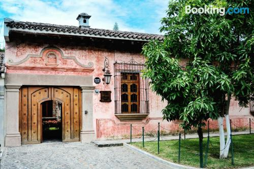 Home for two in Antigua Guatemala with terrace and internet