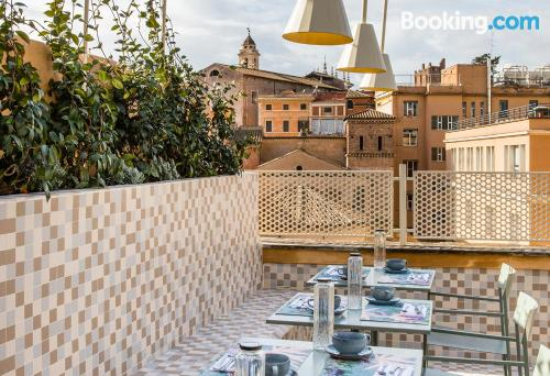 Place in Rome. Homey and in incredible location