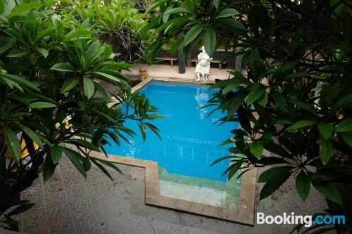 Apartamento con terraza en Padangbai
