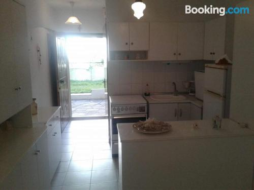 Home in Pefkohori with air-con