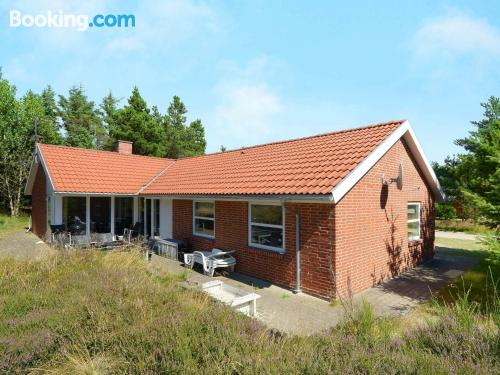164m2 apartment in Blåvand good choice for six or more!