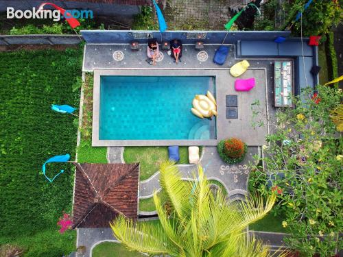 Home for solo travelers. Enjoy your pool in Ubud!