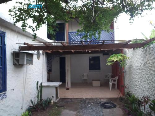 Two rooms home in Cabo Frio perfect for groups.