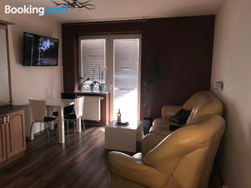 70m2 apartment in Poprad with wifi.