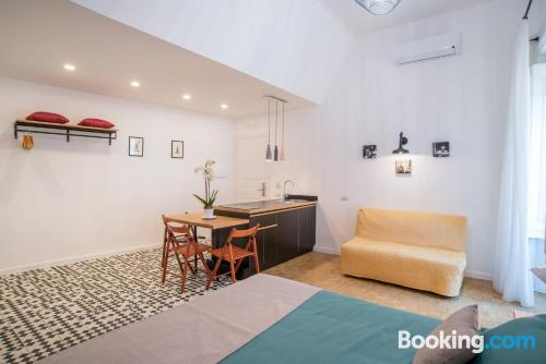Central apartment. Small!