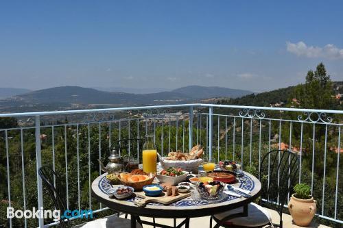 1 bedroom apartment in Amirim with terrace