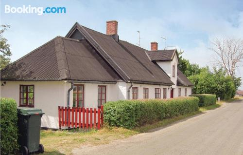 Place in Klagstorp. Great for six or more
