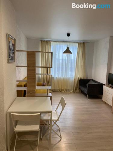 Apartment for 2 people in Minsk with one bedroom apartment.