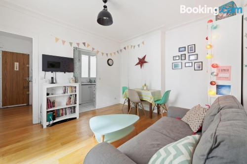 Petite apartment for two in Vincennes.