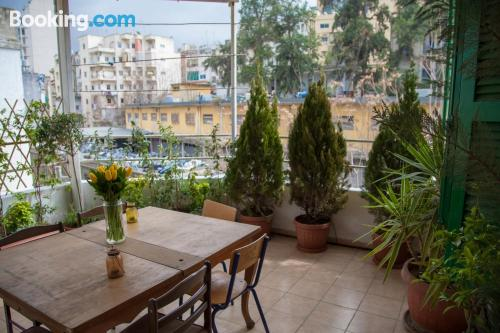 Place in Beirut with terrace.
