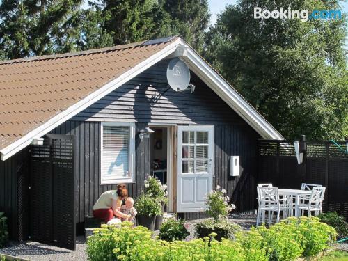 Apartamento apto para mascotas en Stubbekøbing perfecto para cinco o más