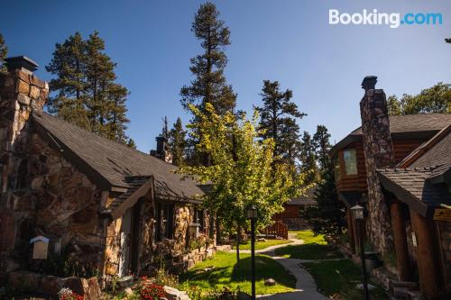 Big Bear Lake from a great location with terrace