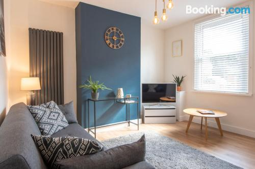 Apartment in Stratford-upon-Avon for groups.