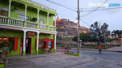 One bedroom apartment apartment in Cartagena de Indias. Perfect for solo travelers!.