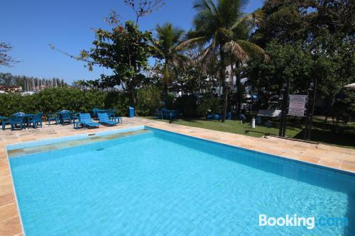 Stay cool: air place in Angra Dos Reis with terrace