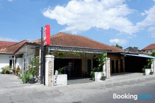Apartamento con terraza en Yogyakarta.